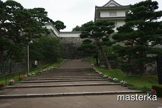 二本松城入り口