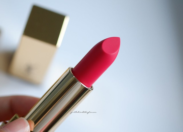 YSL Rouge Pur Couture The Mats Fuschia Fetiche3