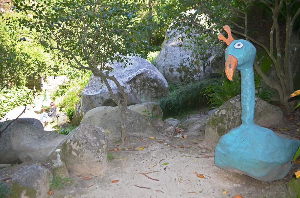 Odd creatures, Parque da Liberdade, Sintra, Portugal