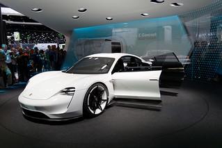 IAA 2015 - Porsche Mission E concept