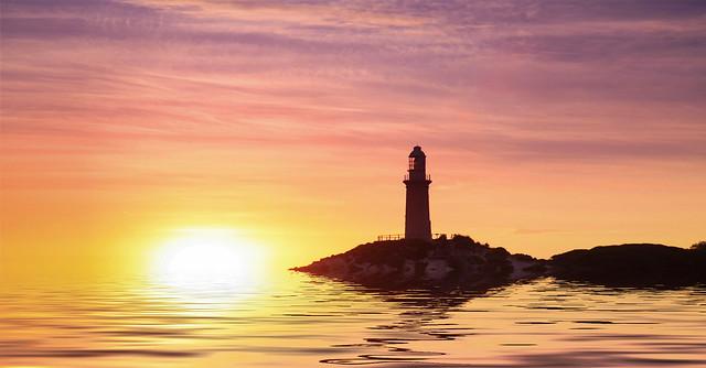 Sunrise on beautiful Rottnest Island, Western Australia