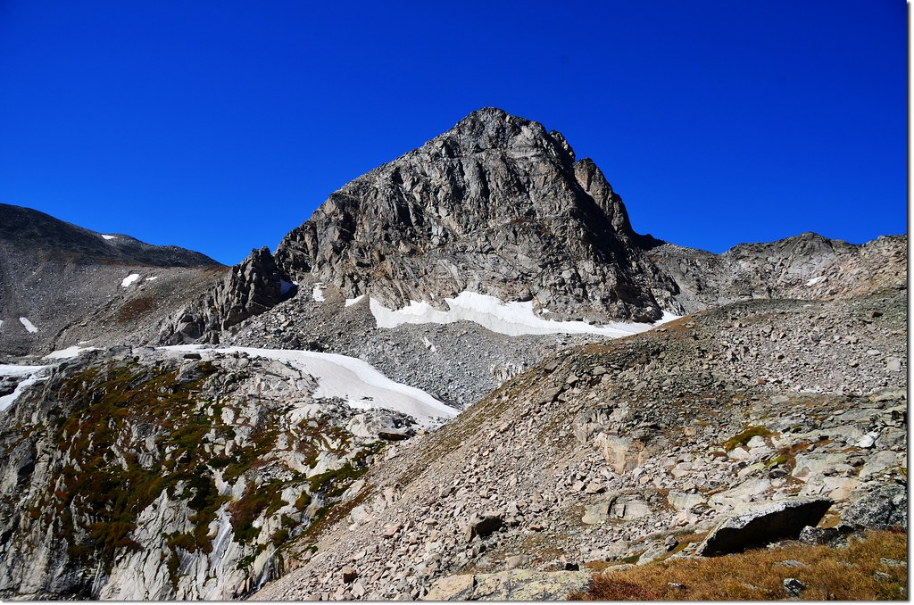 Mount Toll from Upper Blue Lake