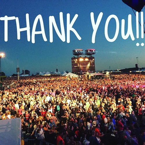 THANK YOU to everyone who came to the show or followed online today! #FarmAid30
