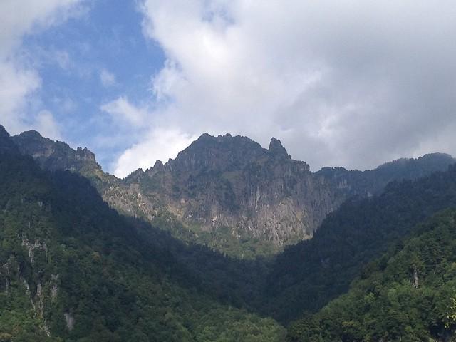 槍ヶ岳 新穂高(右俣谷)~飛騨沢ルート 鍋平から錫杖岳