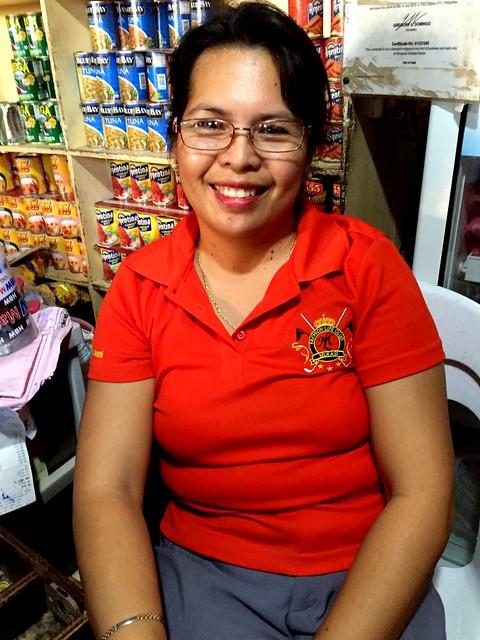 Leyte public market vendor Nenita B. Rojas