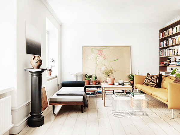 Scandinavian Home With Calming Color Palette
