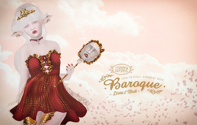 Moon Amore- Baroque Dress & Masquerade