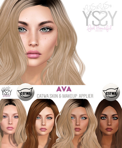 *YS&YS* Ava Appliers for Catwa Heads