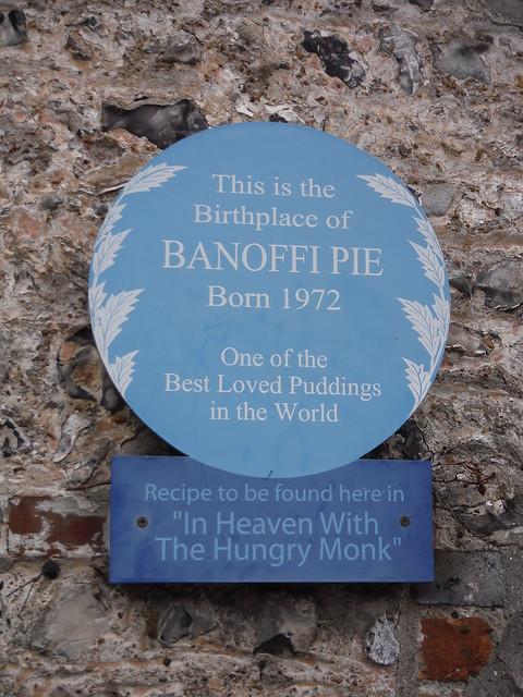 Blue Plaque in Jevington