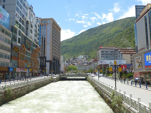 CH-Kangding-Centre-ville-Rivière (2)