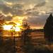 Sunset at Big Bear Lake