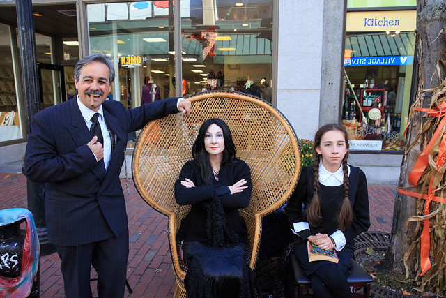 The Addams Family came to Salem, MA