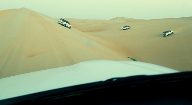 arabian nights village dune bashing ride