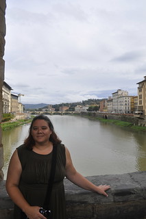 Me at the Ponte Vecchio