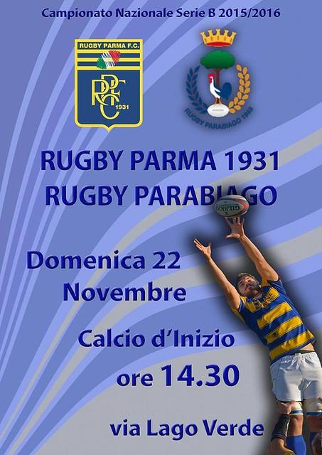 2015/16 - 1° XV - RPFC vs Parabiago (Foto Basi)