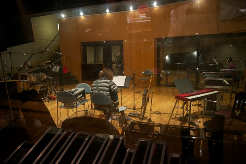 Shinpei Ruike 5 piece band new album recording