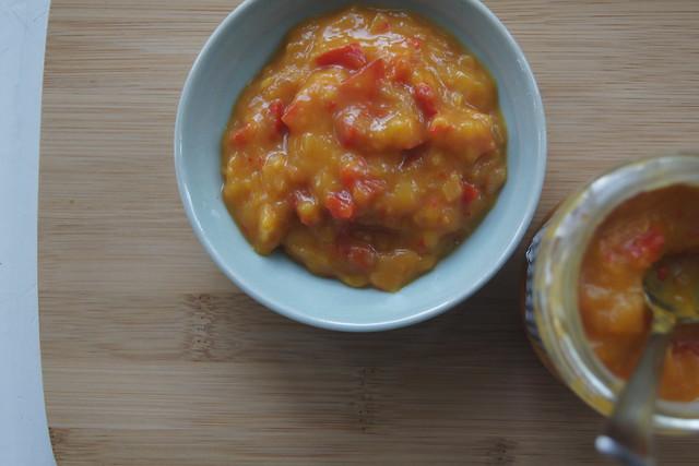 Mango chutney (processed sugar free) DSC05820