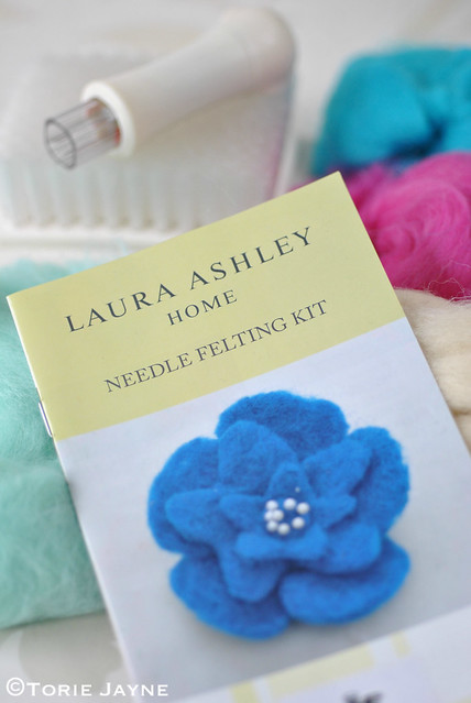 Laura Ashley Needle Felting Kit 1