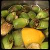 #homemade Sun-dried Tomato & Artichoke Sauce #CucinaDelloZio - soak baby 'chokes in lemon water