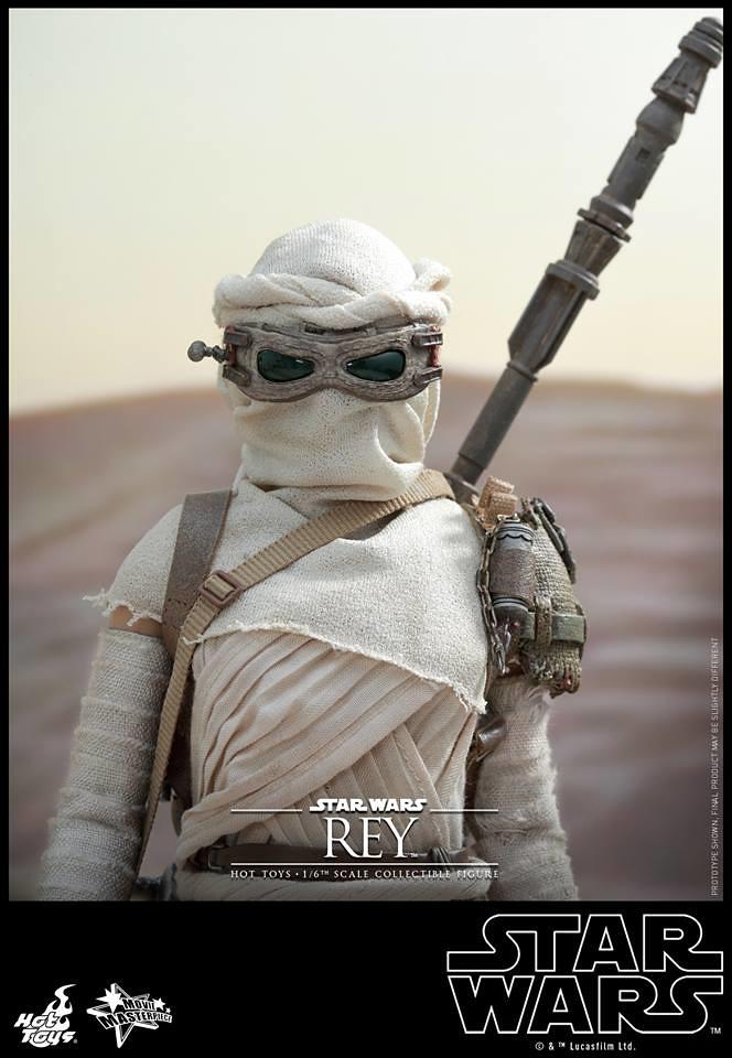 【官圖更新】Hot Toys – MMS336 – 星際大戰七部曲:原力覺醒【Rey】1/6 比例人偶作品