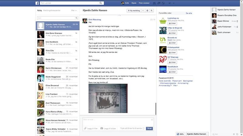 facebook venninne bestemor ingeborg