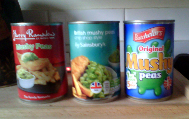 Mushy peas line-up