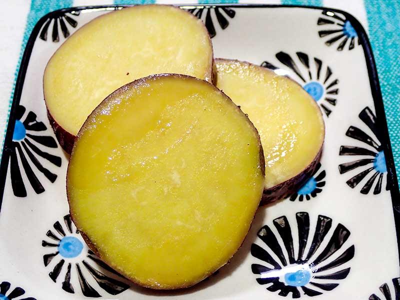 サツマイモのレモンハチミツ煮