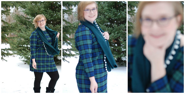 manually focused on snow Collage
