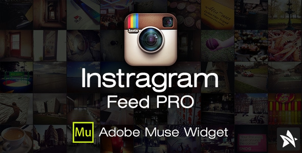 CodeCanyon Instagram Feed Pro Widget for Adobe Muse