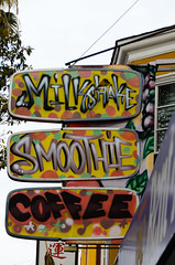 Milkshake Smoothie Coffee in the Mission