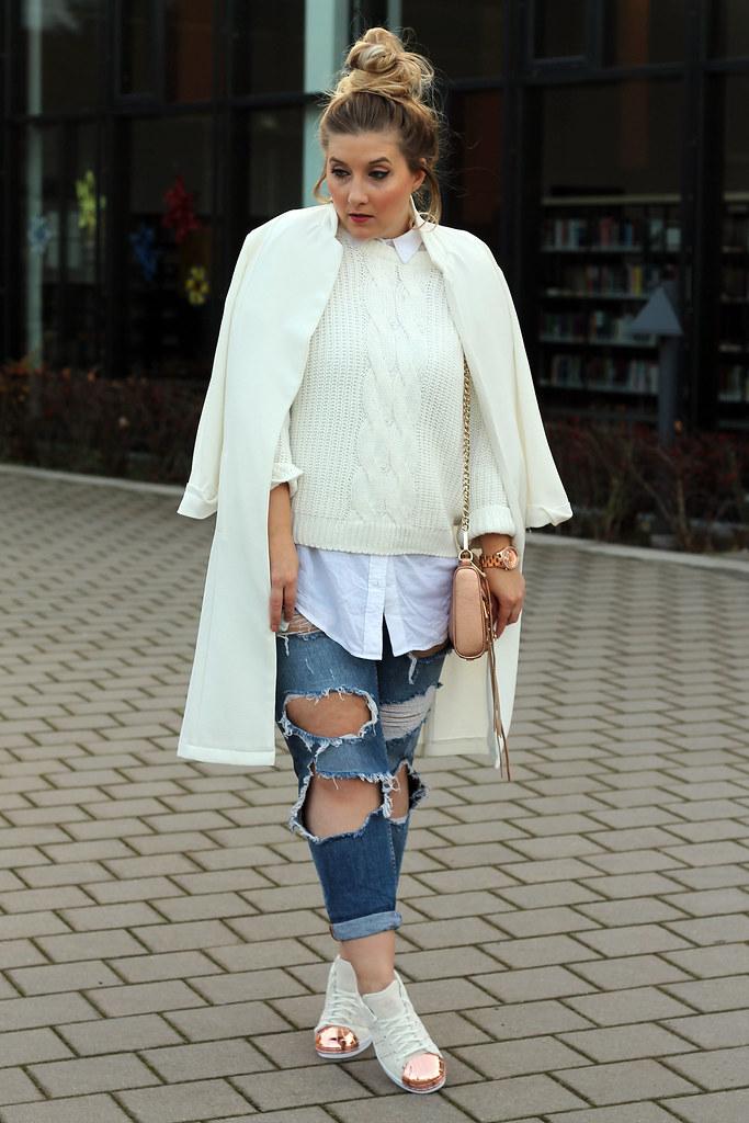 outfit-look-jeans-zara-superstars-rosegold-adidas-schuhe-fahsionblog
