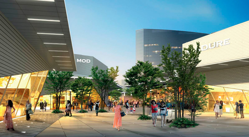 Penang Design Village Premium Outlet landscape