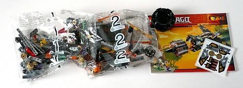 LEGO Ninjago 70747 Boulder Blaster box03