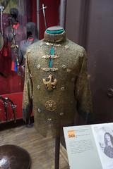 Polish king John Casimir's gilded chain mail armour