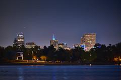 Denver skyline from Sloan's Lake Park