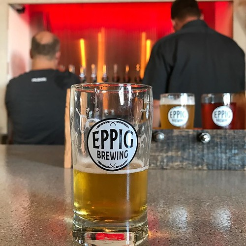 Happy to have seen old friends as they prepare for Eppig Brewing's open this week. #sandiego #makeiteppig @eppigbrewing #beer
