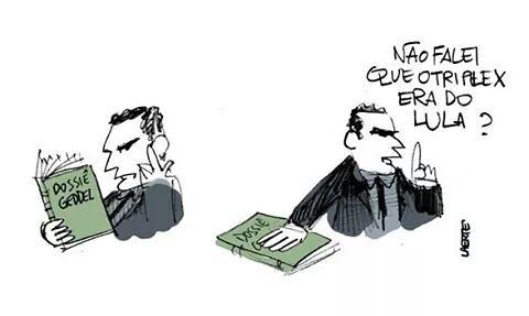 Sergio Moro e sua interpretação do dossiê Geddel - Créditos: Laerte Coutinho