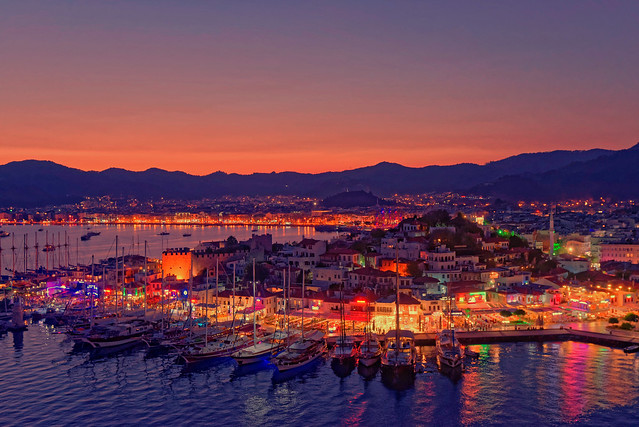 Marmaris at night [Explored 2016-10-21]