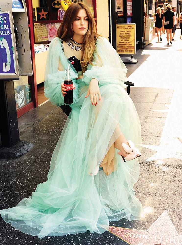 Райли Кио — Фотосессия для «Glamour» ES 2016 – 1