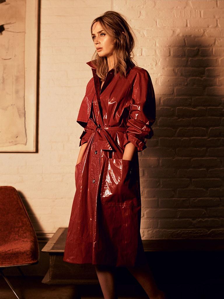 Эмили Блант — Фотосессия для «Vogue» UK 2016 – 2