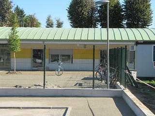 Nuovo edificio scolastico temporaneo