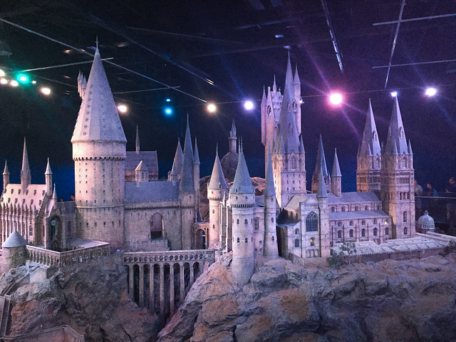 Harry Potter Hogwarts model