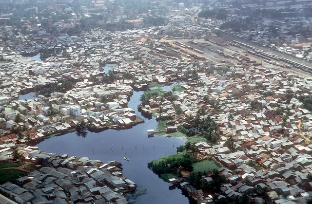 SAIGON Aerial View 1969 - by terrybair2012