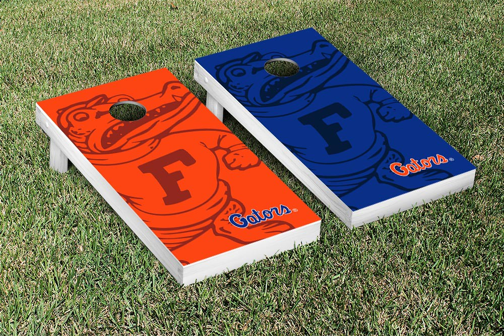 Florida Gators Orange and Blue Watermark