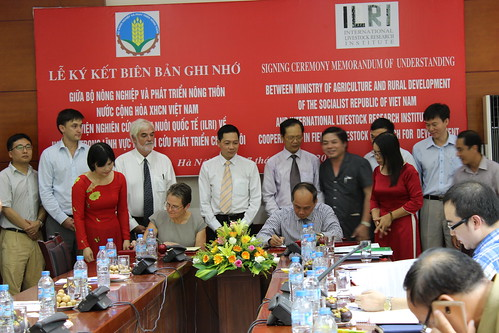 ILRI-MARD MoU signing ceremony