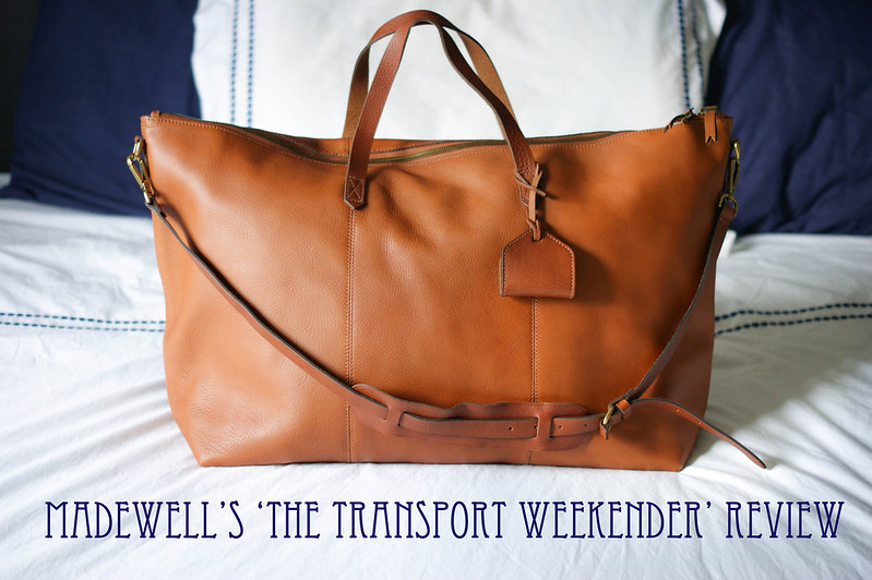 Madewell The Transport Weekender Review