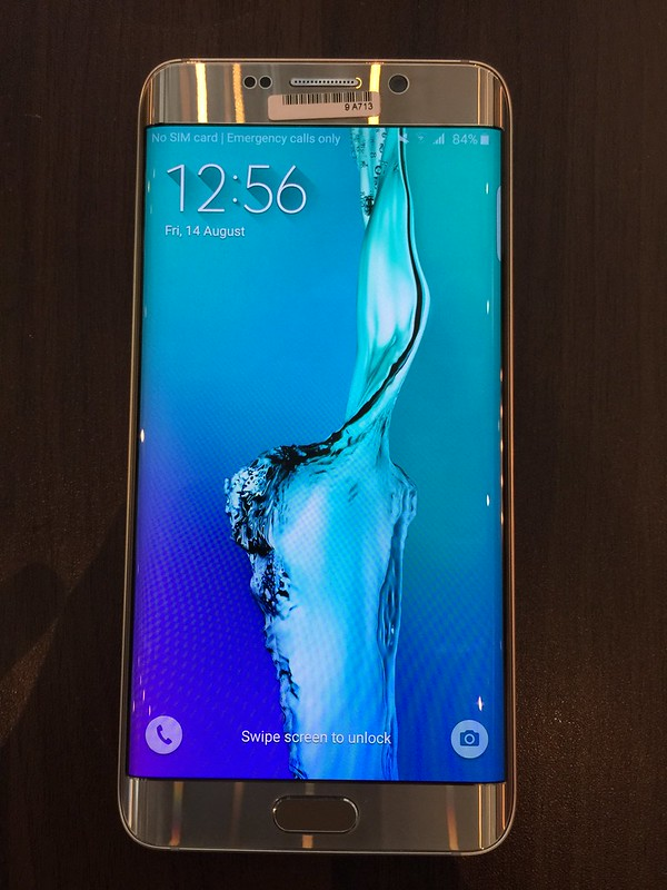 Samsung Galaxy S6 edge+ - Front