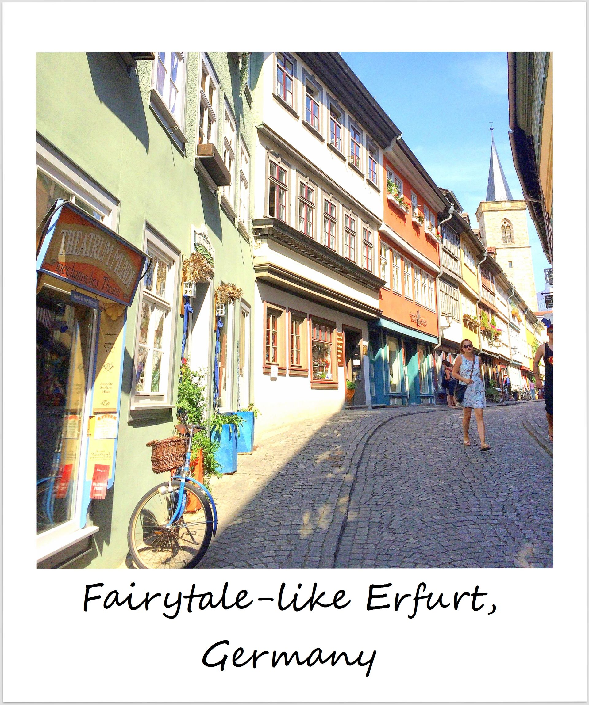 polaroid of the week germany erfurt kraemerbruecke