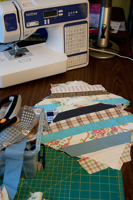 String Block Table Runner