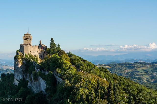 San Marino Cesta Castle